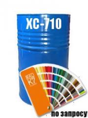 Фарба Емаль з високою стійкістю до дії агресивних хімічних реагентів ХС-710