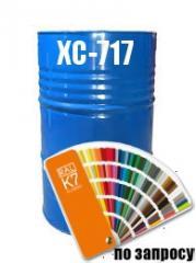 Фарба Емаль хімостійка (захист від корозії металевих поверхонь) ХС-717