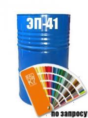Фарба Емаль епоксидна хімостійка (для антикорозійного захисту) ЭП-41