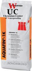 Однокомпонентная, минеральная гидроизоляционная AQUAFIN-1K, АКВАФІН-1К