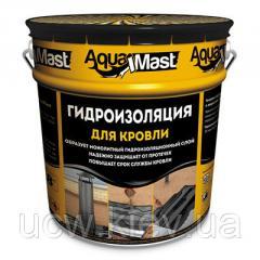 Битумно-резиновая холодная кровельная мастика AquaMast 18 кг