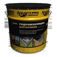 Битумно-резиновая холодная кровельная мастика AquaMast 10 кг