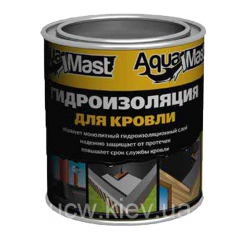 Битумно-резиновая холодная кровельная мастика AquaMast 3 кг