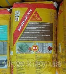 Однокомпонентный подливочный и анкерующий раствор на цементной основе SikaGrout®-316 25,00