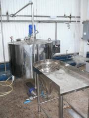 Оборудование для растворения сухого молока