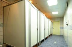 Перегородки для туалетов, кабинки сантехнические