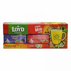Чайный ягодный набор Loyd в пирамидках 40 шт + Чашка