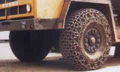 Цепи защитные для колес карьерной техники