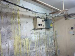 Ін'єкційна гідроізоляція тріщин, швів в бетоні і