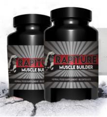 Капсулы для роста мышц и повышения тестостерона Rapiture Muscle Builder (Рапитер Мускул Билдер)