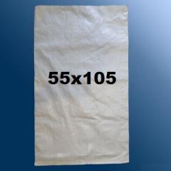 Мешок 55х105 (50 кг) 70 гр полипропиленовый (мешки