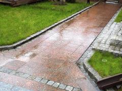 Термообработанная гранитная плитка (Капустинс