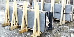 Плиты гранитные, слябы (Лабрадорит)
