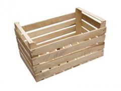 Boxes wooden for fruit and vegetable products