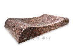 Раковина из натурального камня 70*37*10