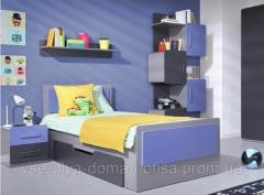 Детская одноярусная кровать ИНСТ 53