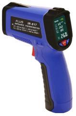 Пирометр Flus IR-817 (-50℃ до +550℃) с термопарой К-типа, измерением влажности и температуры воздуха, DEW