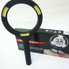 Лупа ручная круглая HG-BL010 (90мм-3Х) со
