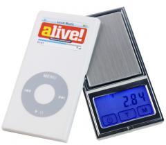 Весы цифровые DH01(±0.01g/100g) с сенсорным дисплеем