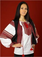 Vestees the Embroidered vest - vyshivanka of KM 4