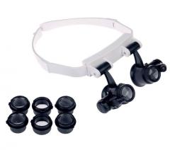 Бинокулярные лупа-очки со светодиодной подсветкой ТН-9202 Magnifier Китай