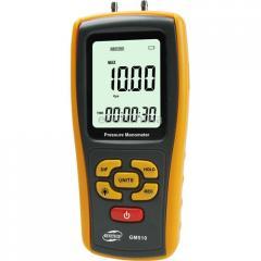 Цифровой дифференциальный манометр Benetech GM510