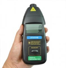 Лазерный бесконтактный тахометр Walcom DT-2234B (50-1500мм) (2,5-99999 об/мин) MAX, MIN