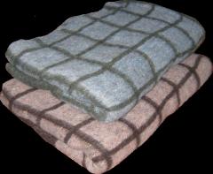 Blanket woolen 50% of wool