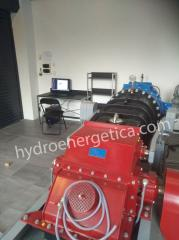 Hydroelectric power stations with all equipment