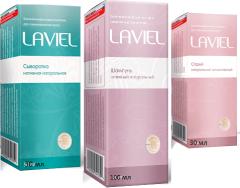 LAVIEL - серия (шампунь, спрей, сыворотка) для