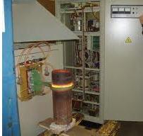 Equipment for heat treatment of metals