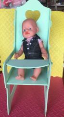 Кукольный стульчик для кормления C109