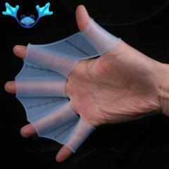 Перчатки - ласты на руки - для плавания