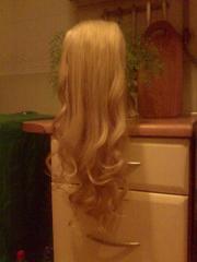 шиньйон(хвост) из натуральных волос