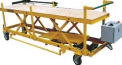 Cart of intra shop transportation of preparations