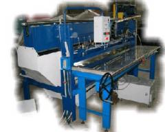 The machine for cutting of sheet materials