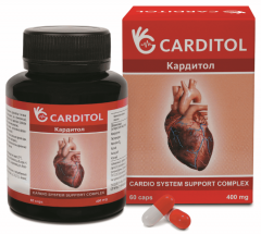 Carditol (Karditol) - capsules for heart health