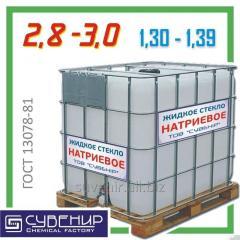 Стекло жидкое натриевое — модуль 2,8÷3,0 ρ=1,30÷1,39 ГОСТ 13078-81