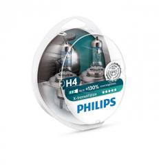 Галогенная лампа Philips X-tremeVision +130% H4
