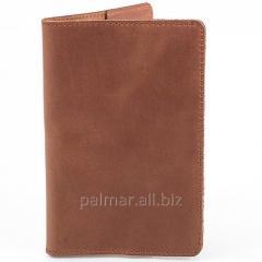 Шкіряна обкладинка для паспорта, обкладинка на