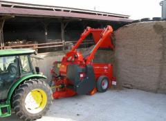 Loader distributor and a vyduvatel of a silo and