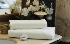 Towel velor Cream 70x140