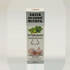 ЗАСІБ НА ОСНОВІ ФІТОРА  «FITORINOS » з эфірною олією часнику