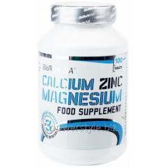 Добавки для спортсменов Calcium Zinc Magnesium (100 таблетс)