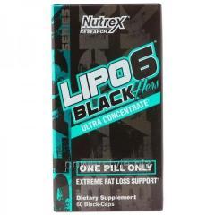 Жиросжигатель Lipo 6 Black Hers Ultra concentrate (60 капсул)