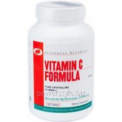 Минералы Vitamin C Formula (100 таблетс)