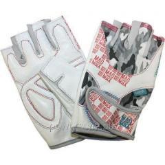 Перчатки атлетические MM NO MATTER MFG 931 - белые