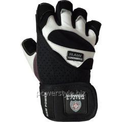 Перчатки атлетические RAW POWER PS 2850 Black-Grey