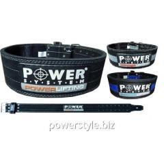 Пояс Powerlifting PS 3800 Black
