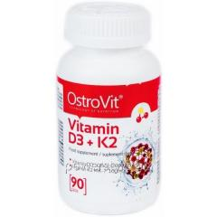 Добавки для спортсменов VITAMIN D3 + K2 (90 таблетс)
